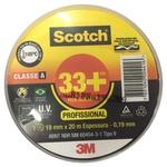 Fita Isolante 19mm x 20m Scotch 33+ 3M