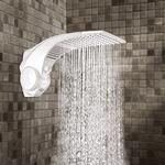 Chuveiro e Ducha Duo Shower Quadra Turbo Multitemperaturas 127V 5500W Lorenzetti