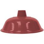 Pendente Ø36cm x 19cm Vermelho para 1 Lâmpada E27
