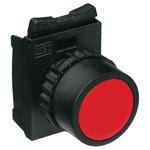 Botão Simples Faceado Vermelho - Weg