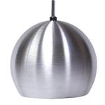 Pendente Esférico Pequeno Ø 12cm Para 1 Lâmpada E27 Escovado