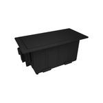 Mini Caixa de Embutir ABS 4 Blocos Facility Dutotec/QTMOV
