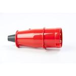 Plugue 3P+T 63A 380/440V Vermelho N4576 Steck
