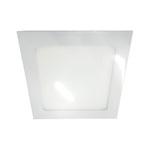 Painel / Plafon de LED Embutir 22x22cm Quadrado 18W Branco Frio