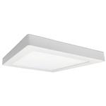 Painel / Plafon de LED Sobrepor 40x40cm Quadrado 36W Branco Frio