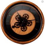 Relógio de Parede em Madeira Eliz