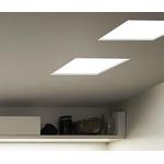 Embutido de Teto No Frame II 37,4x37,4cm LED 50,4W 4000K Branco Bivolt Newline