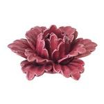 Flor Decorativa Cerâmica Rosa
