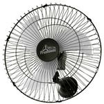 Ventilador Oscilante de Parede Premium 60cm Bivolt Preto Venti-Delta