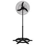 Ventilador Oscilante de Coluna 50cm Preto Bivolt Ventisol