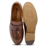 Sapato Feminino Loafer Amêndoa Ax02