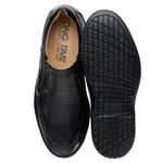 Sapato Casual Masculino Long Time Preto SC04