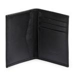 Porta Cartão de Couro Preto 311000