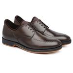 Sapato Casual Masculino Café 359012