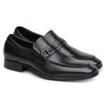 Sapato Scatamacchia Masculino de Couro Preto 7100