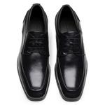 Sapato Scatamacchia Masculino de Couro Preto 7102
