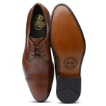 Derby Cap Toe Conhaque 67075