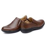 Sapato Casual Masculino Long Time Bronze SC04