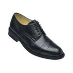Sapato Scatamacchia Preto 301 Solado Todo De Couro