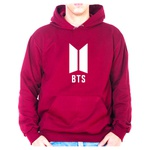 Moletom Unissex BTS - Bordo
