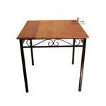 Jogo de mesa com 2 cadeiras arabesco