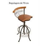 Kit 3 Banquetas 80cm 10X Sem Juros
