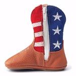 Bota Texana Baby Couro Legítimo USA