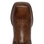 Bota Texana Masculina Bico Quadrado Couro Legítimo Terra Boots
