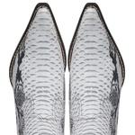 Bota Masculina Cano Curto Bico Fino Anaconda PB Branco