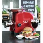 Moedor de Carne CAF Gourmet - Boca 05 - Bivolt Vermelho