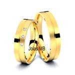 Alianças 4,5mm de Casamento Tianguá