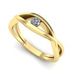 Anel Solitário de Diamante Aparecida de Goiania
