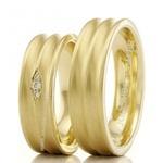 Alianças de Casamento Três Passos 7,5mm