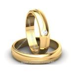 Alianças de Casamento Crixás 5,4mm