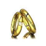 Alianças de Casamento Bahia 3,5mm