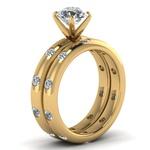 Anel Solitário de Diamantes Teresina