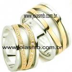 Alianças de Casamento Barrinha 10mm