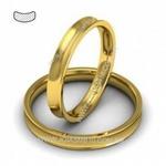 Alianças de Casamento Catanduva 3mm
