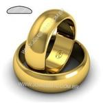 Alianças de Casamento Diamantina 9,5mm