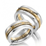 Alianças de Casamento Medianeira 8mm