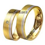 Alianças de Casamento Senhor do Bonfim 7,4mm