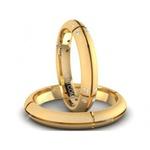 Alianças de Casamento Minas Novas 4mm