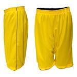 Bermuda Masculina Dupla Face Marinho e Amarelo