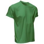 Camiseta Básica Unissex Verde Bandeira