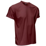 Camiseta Básica Unissex Vinho