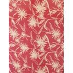 Canga Floral Vermelha
