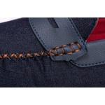 Mocassim Masculino Linha Ibiza Jeans - Marrom Kapell