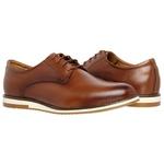 Sapato Oxford em couro Legítimo Caramelo Kapell