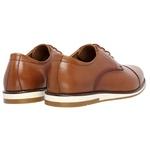 Sapato Social em couro Legítimo Caramelo Linha Oxford Kapell