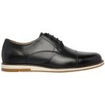 Sapato Oxford em couro Legítimo Preto Kapell